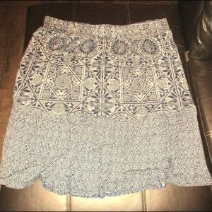 NWOT ST JOHNS BAY WOmens Plus BOHO skirt sz XXL